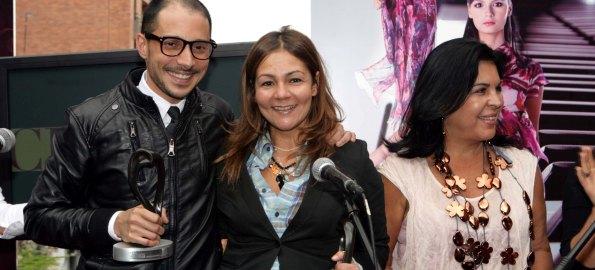 Felipe Espinosa, Lina Cantillo (Mejor puesta en escena), Aura Marina Hernández (Jurado)