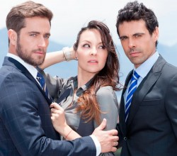 Mentiras Perfectas: Michel Brown, Carolina Gómez y Emmanuel Esparza