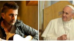 Juanes y el papa Francisco